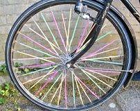 Fleurige fiets