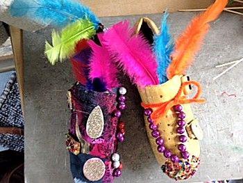 Mooie schoenen maken