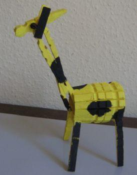 Giraffe van knijpers
