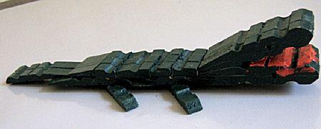 Krokodil van knijpers