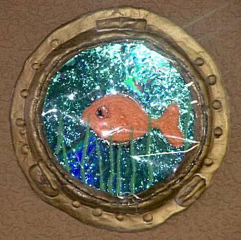 Patrijspoort met vis