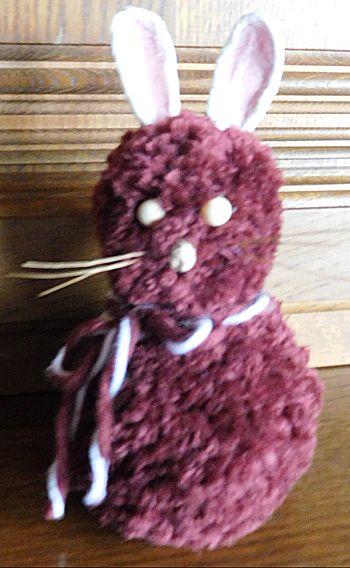 Pompon konijn een leuk knutselwerkje - Hoe je een eigentijdse inrichting van ...