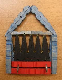 Sleutelrek huisje