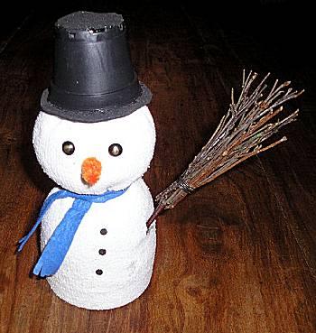Sok wordt Sneeuwpop
