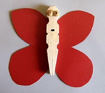 Vlinders van knijpers