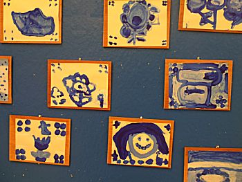 Delftsblauwe kaarten