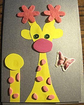 Giraffe kaart