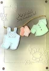 Waslijn geboortekaartje