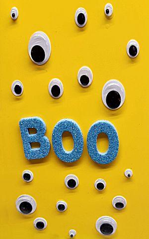 Halloween Boo kaart