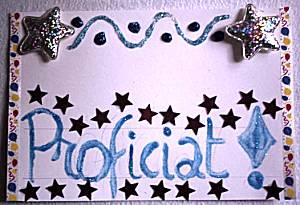 Glitterkaart