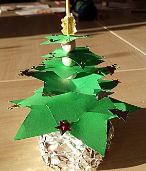 Staande kerstboom