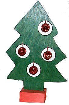 Figuurzagen kerstboom