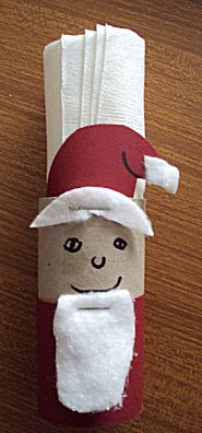 Servettenhouder kerstman
