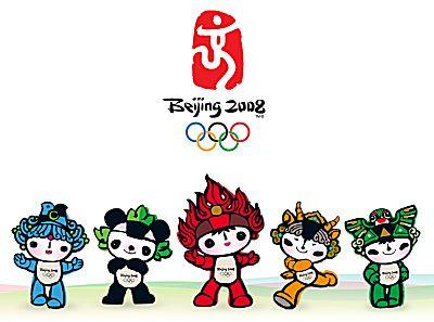 Mascottes olympische spelen 2008