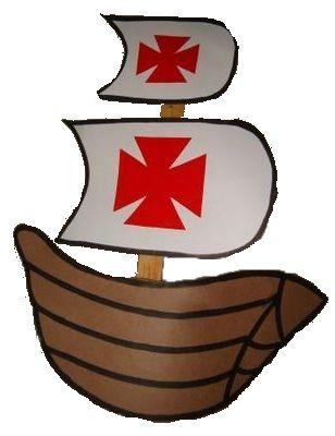 Piratenbootje met zeilen knutselen