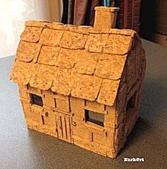Huisje van kurk