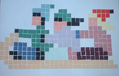 Mozaiek maken