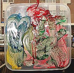 Glas in Lood schilderij