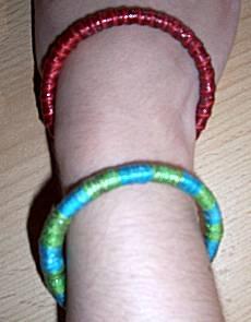 Koordjes-armbandjes