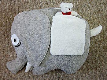Stoffen olifantje
