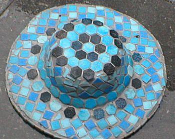 mozaiek hoed