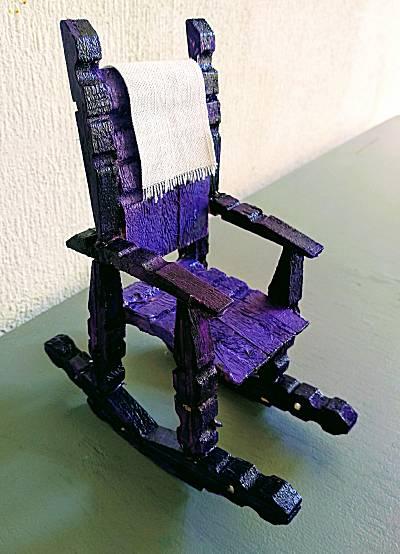 Knijperschommelstoel