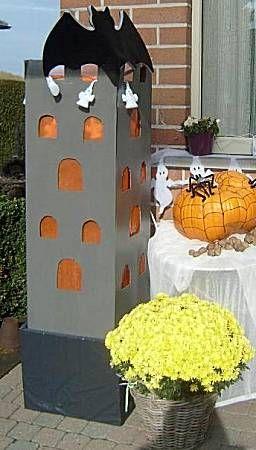 Halloweenkasteel