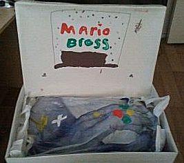 Mario Bross computer in doos