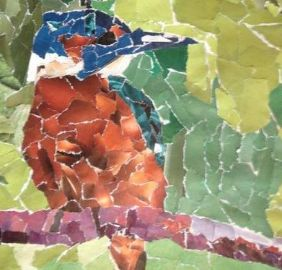 Mozaïeken met papier