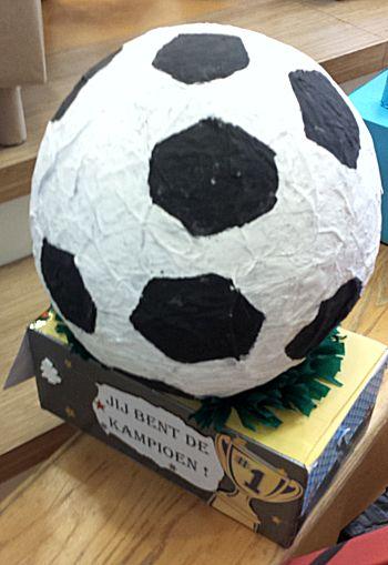 voetbal wedstrijd surprise