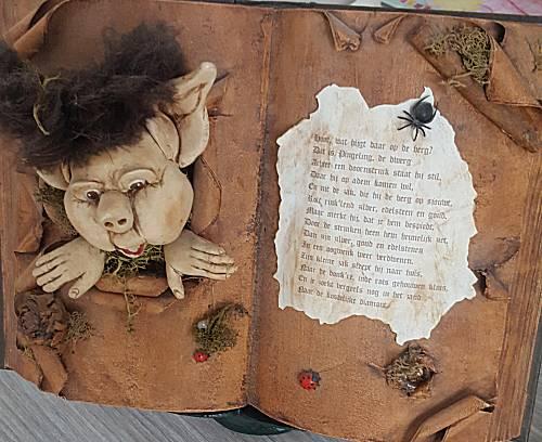 Boek versieren