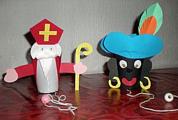 Sint en Piet Bekervangspel