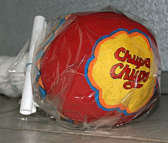 Chupa Chup lollie als surprise