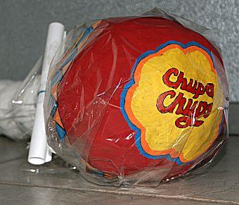 Chupa Chup lollie als surprise