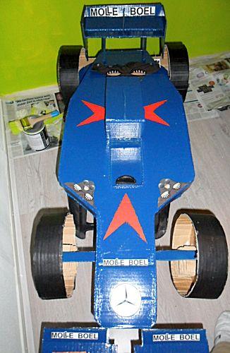 Formule1 racewagen als surprise