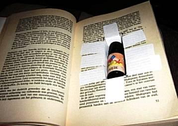 Boek met geheim