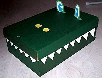 Krokodil verrassing
