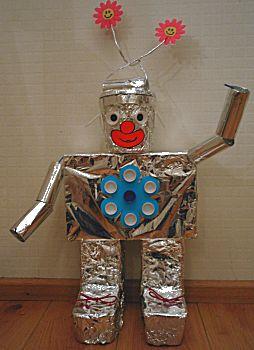 Robot Een Knutselwerkje Voor Jou
