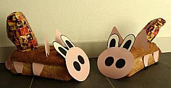 Broodsloffen konijn