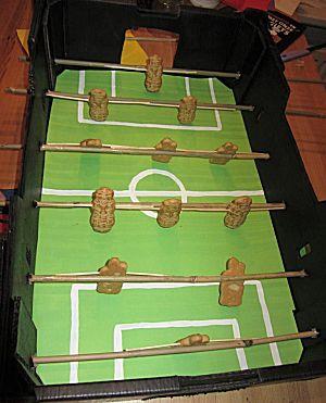 Tafelvoetbalspel surprise