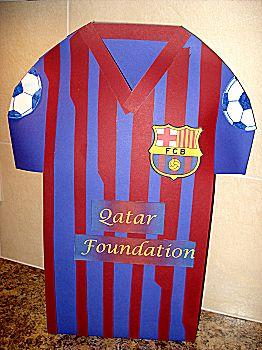Voetbalshirt surprise