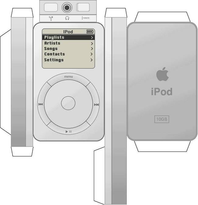 MP3 speler bouwplaat