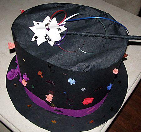 Hoge hoed voor goochelaar