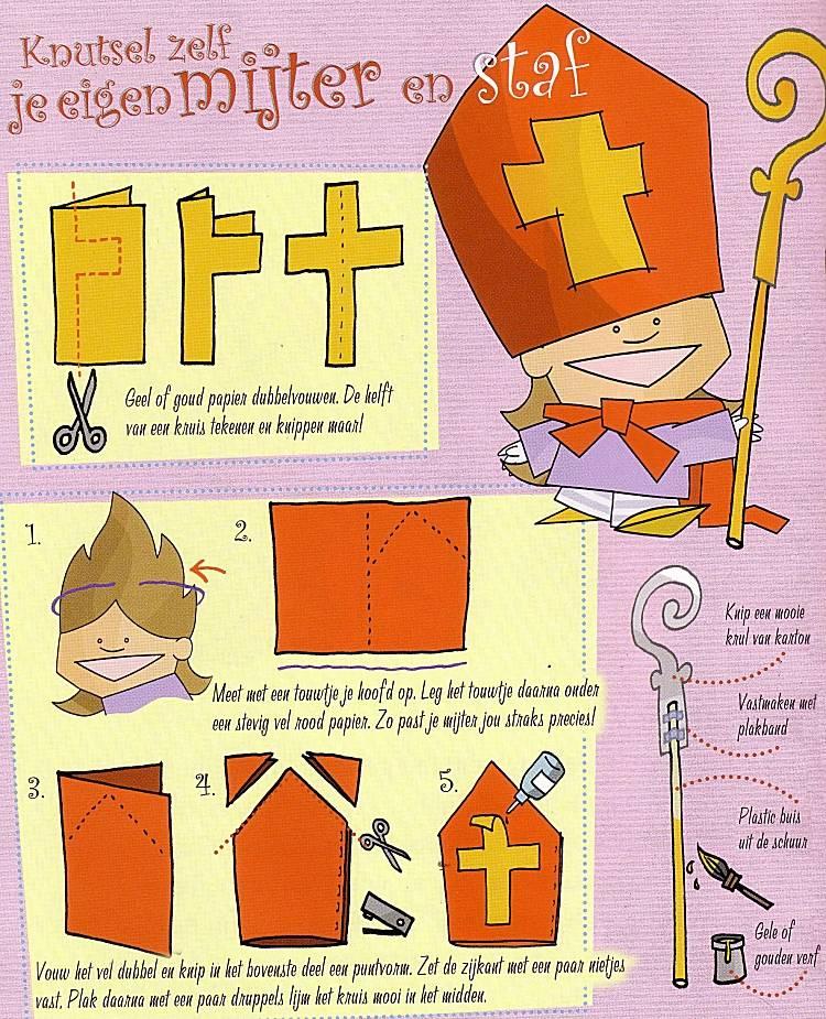Afbeeldingen Bij Knutselen Voor Sinterklaas Als