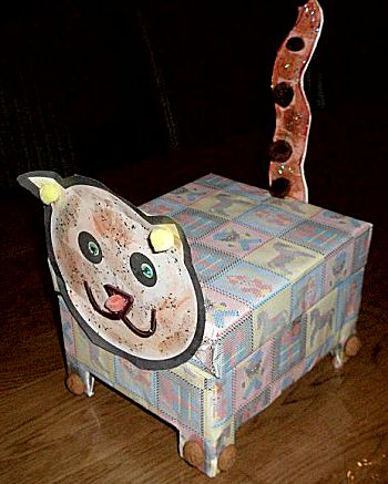Poes van een kistje