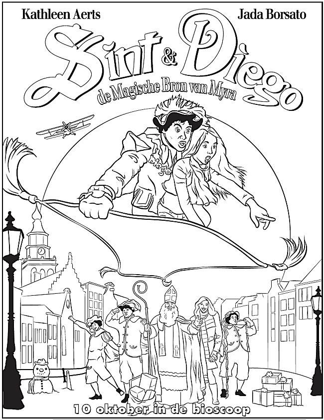 Sint & Diego - De Magische Bron van Myra