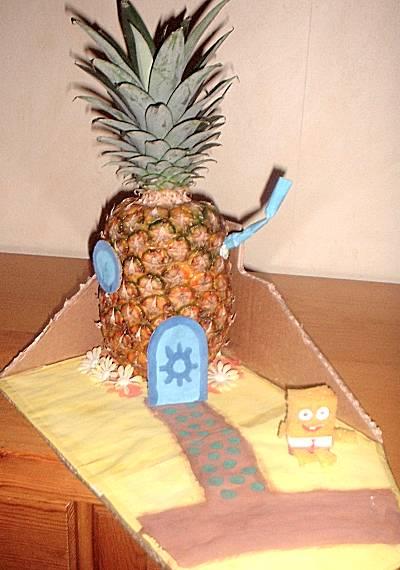 Ananashuis van Sponge Bob