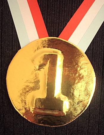Olympische medaille maken