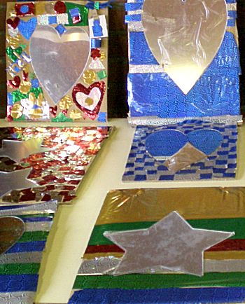 Mozaiek spiegel