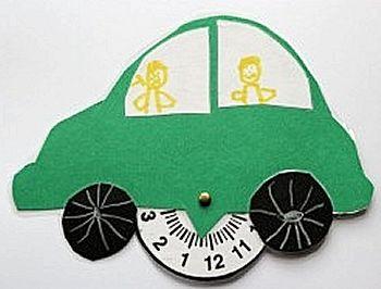Parkeerschijf voor auto